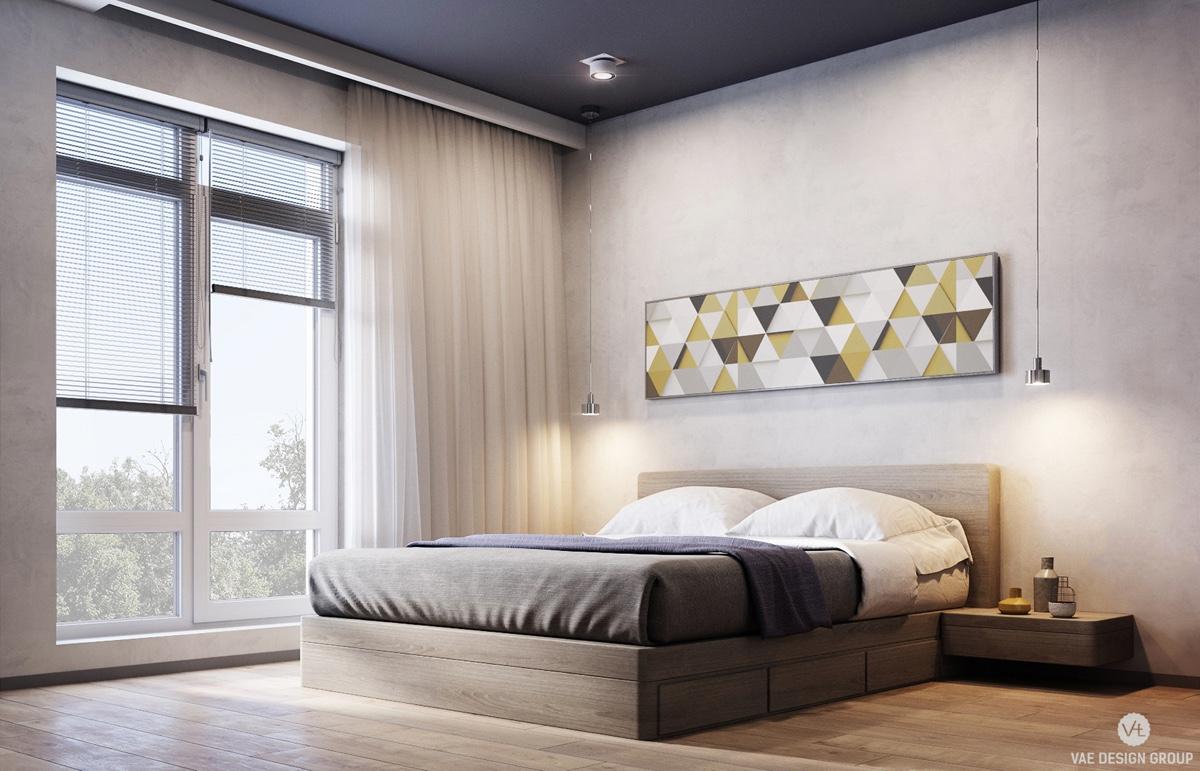 simple white bedroom decor