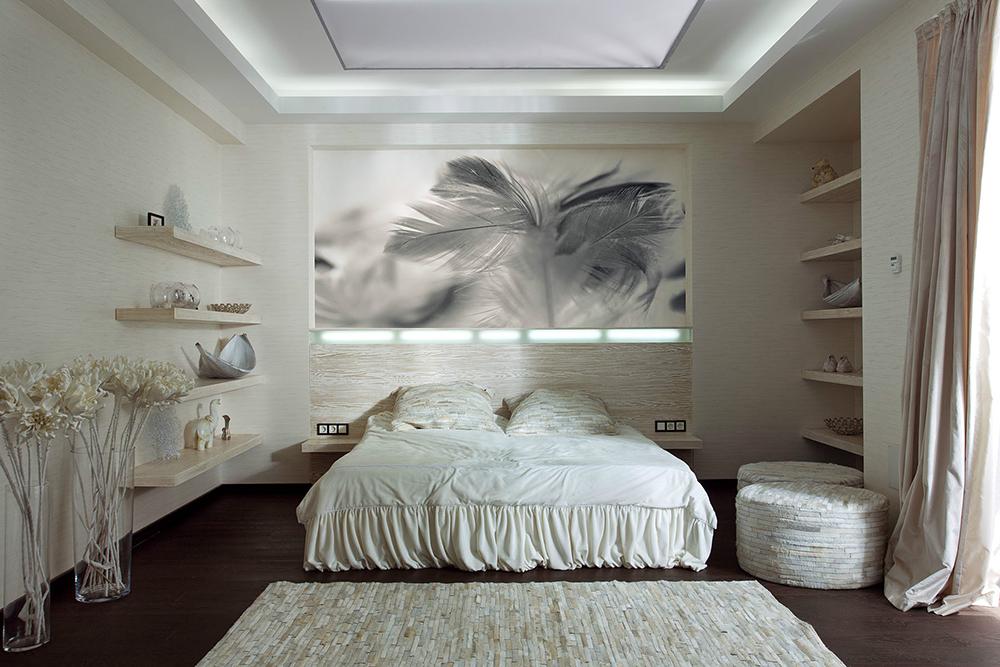 feminine bedroom decor