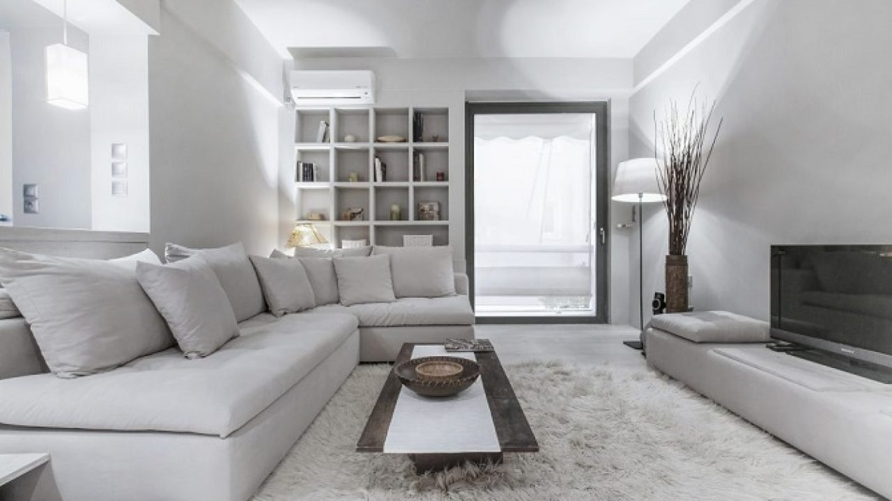 Super Inspiring Contemporary Apartment Design Decorated With The Aesthetic Of Soft White Tone Color Roohome