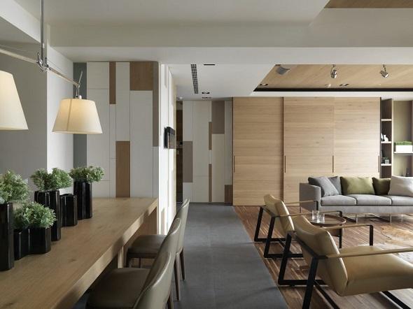 Contemporary apartment interior design