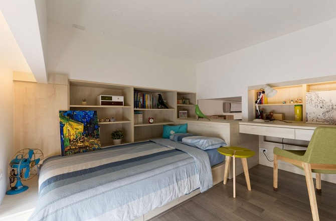 Contemporary bedroom design by Alfonso Ideas