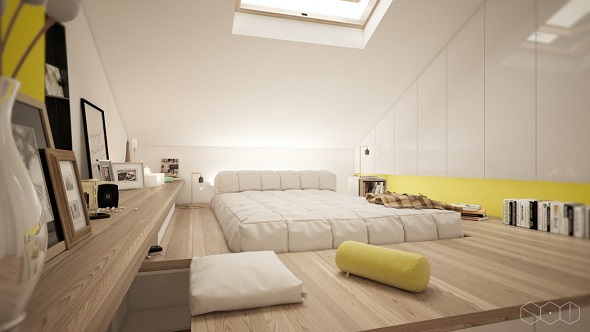 Contemporary bedroom design by Jordan Iverson Signature Homes