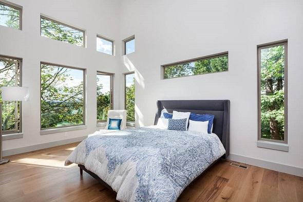 Contemporary bedroom design by NOISTUDIO