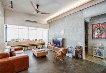 Contemporary interior apartment design