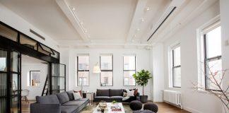 Contemporary spacious apartment design