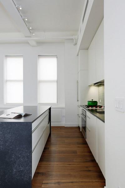 Contemporary spacious kitchen design