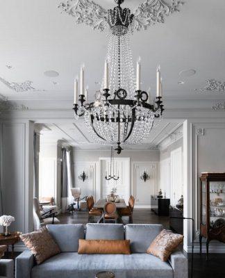 Luxurious apartment decorating ideas