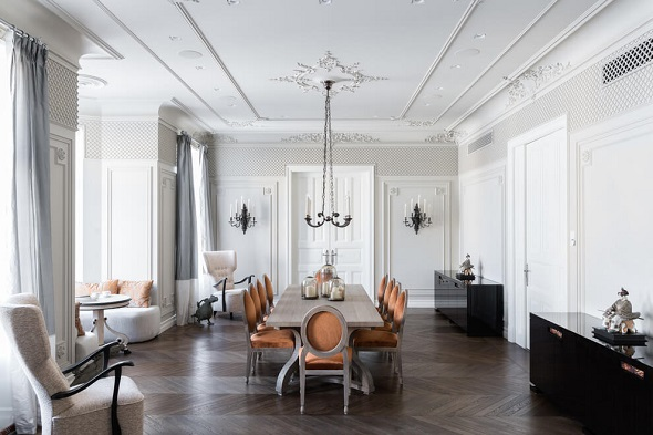 Luxurious dining room design ideas
