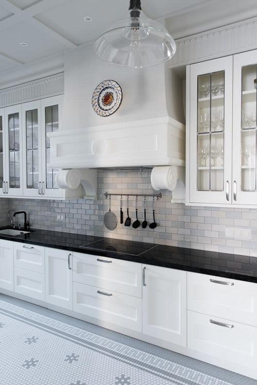 Luxurious kitchen interior design