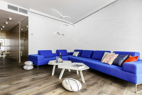 Minimalist apartment decorating design