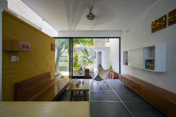 Minimalist single house