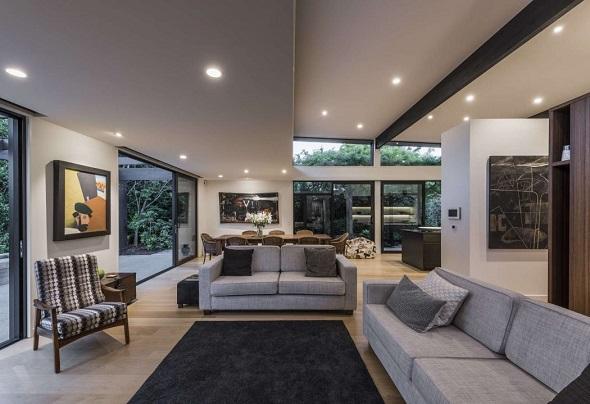 Minimalist single house decorating ideas