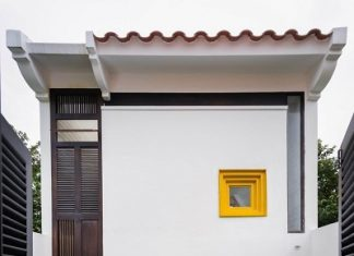 Minimalist single house design