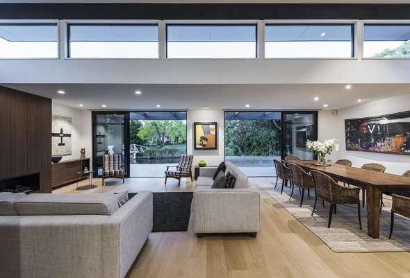 Introducing minimalist single house design ideas for Living room ideas nz