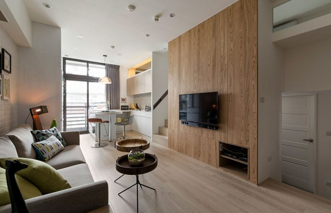 Interesting minimalist small apartment ideas home design for Minimalist small apartment