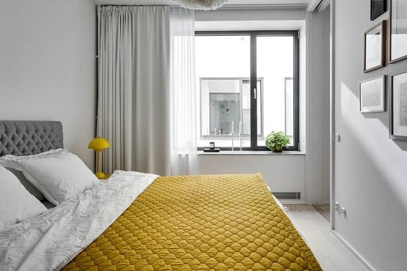 Scandinavian bedroom design by Alexander White