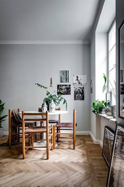 Applying scandinavian small apartment design along with for 40m apartment design
