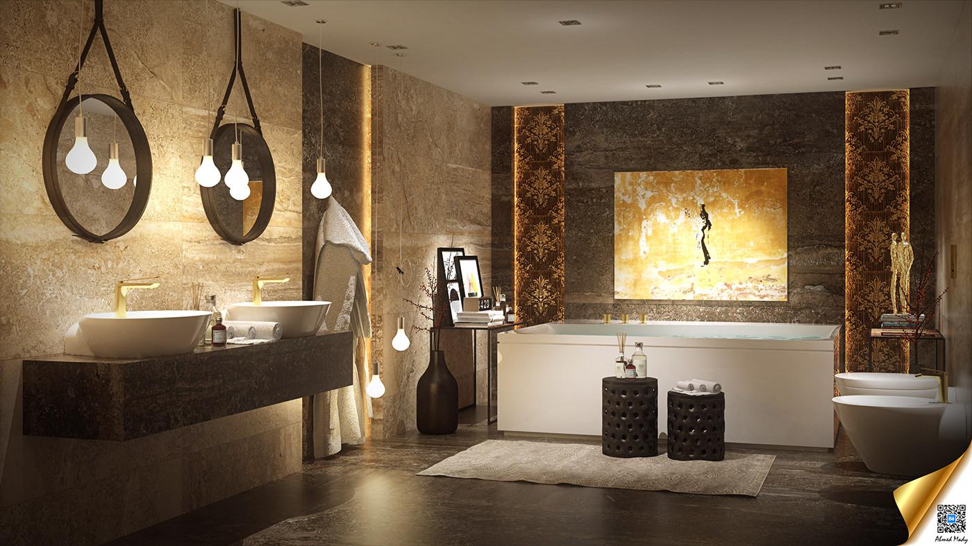 luxury bathroom decorating ideas