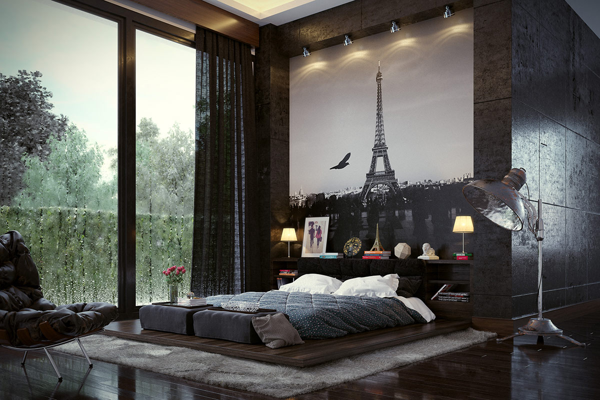 Variety of awesome bedroom interior designs which adding a - Bedroom with mattress on the floor ...