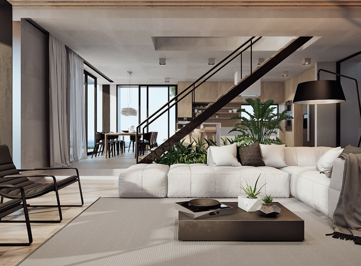 Modern Home Interior Design Arranged With Luxury Decor Ideas ...