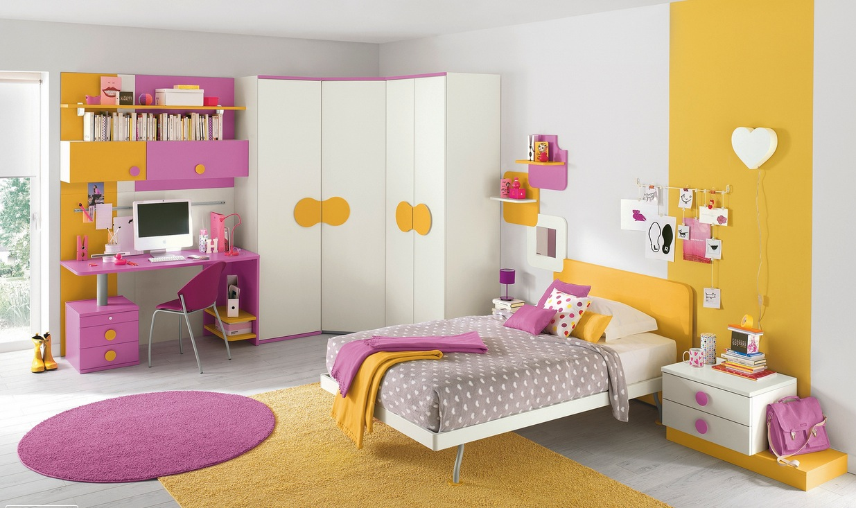 Adorable Kids Room Designs Which Present A Modern And
