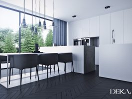 luxury kitchen set design