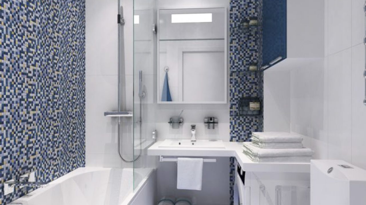 How To Decorate Simple Small Bathroom Designs That Change Become More Trendy And Stylish Interior Roohome