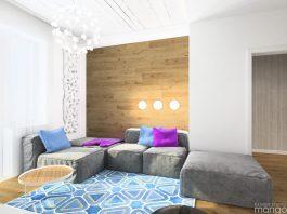minimalist small living room design