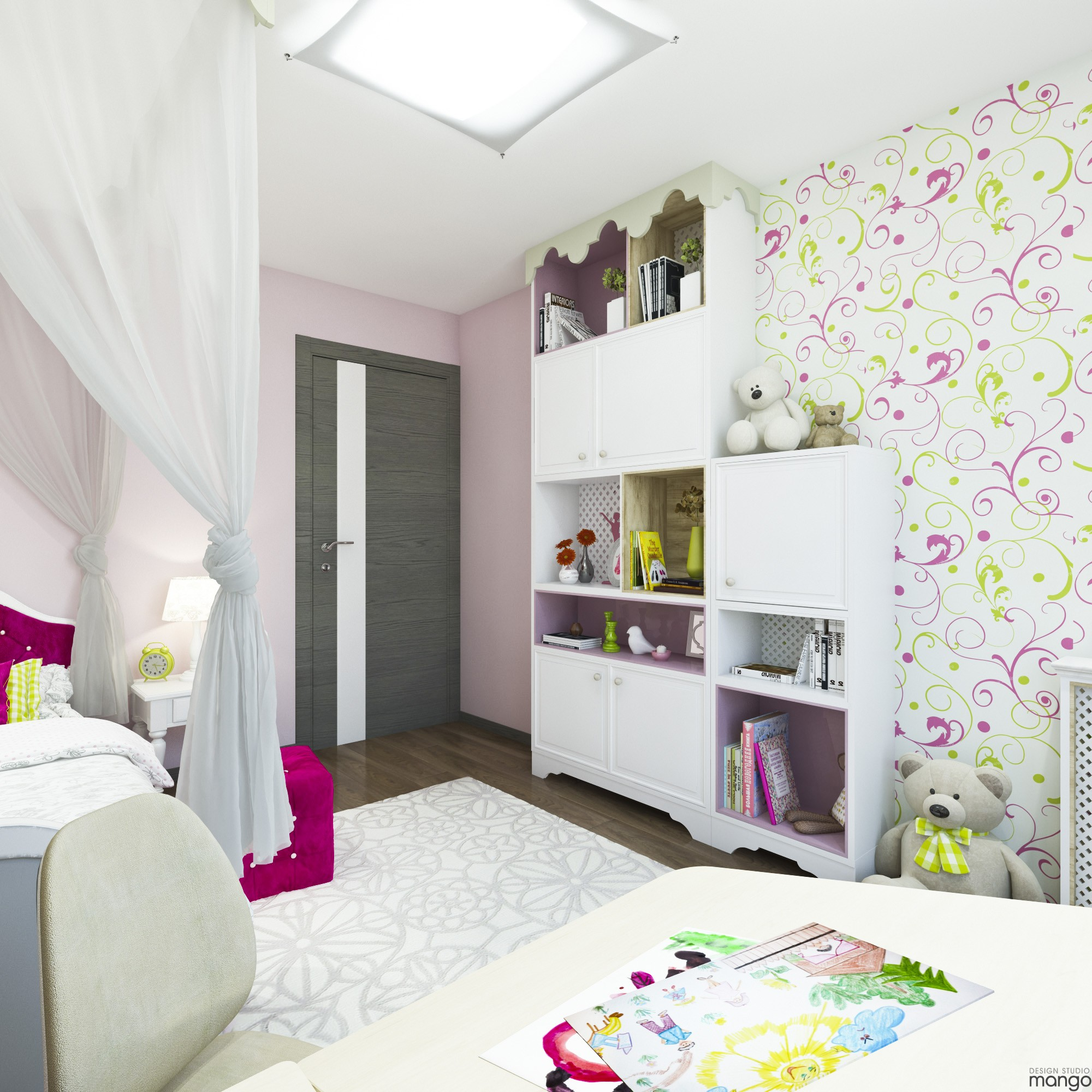Decorating With Colors Mango: Variety Of Kids Room Decorating Ideas Which Apply With A