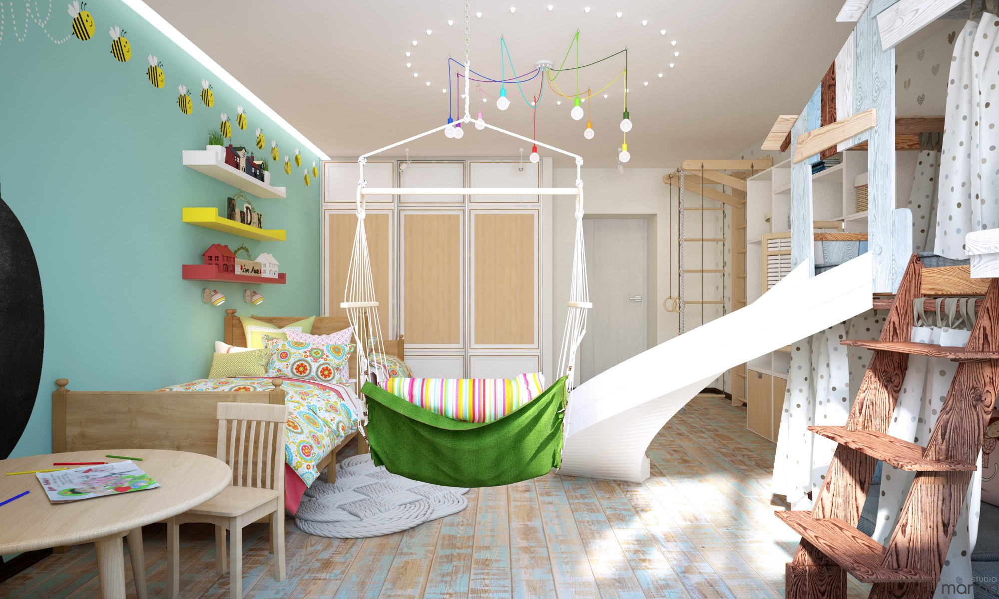 adorable kids room decor