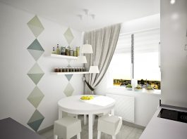 simple small dining room design