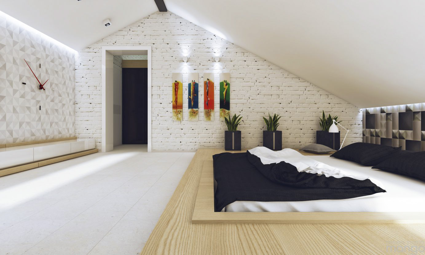 wooden bedroom design