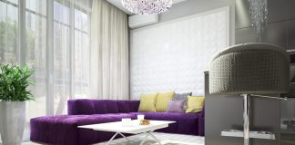 small minimalist living room