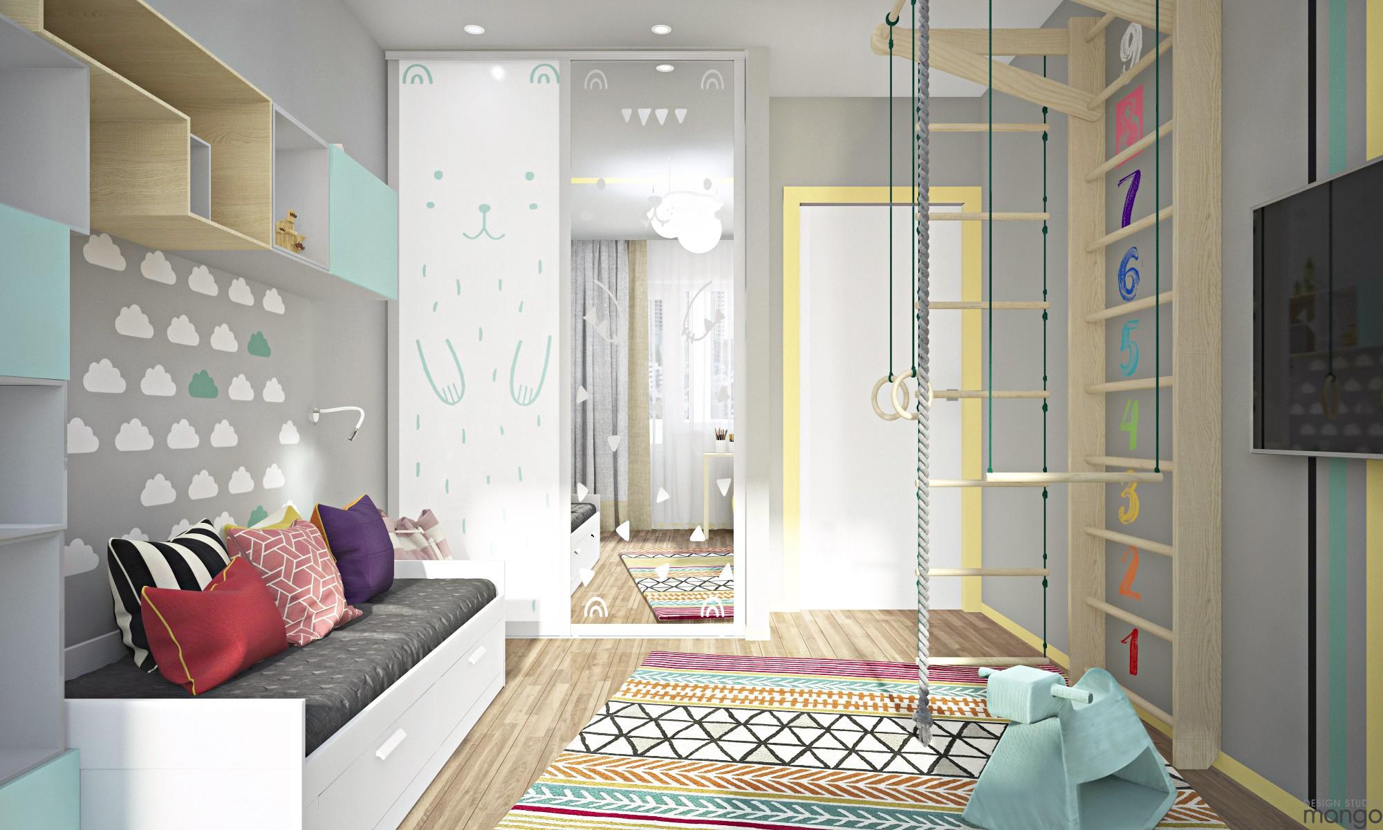 playful kids room design