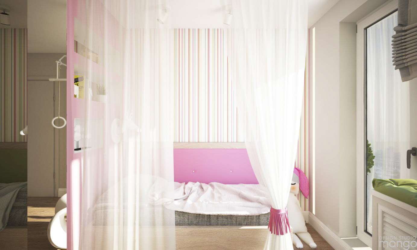 pinky bedroom decor