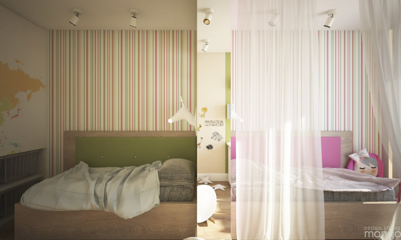 cute bedroom wallpaper design