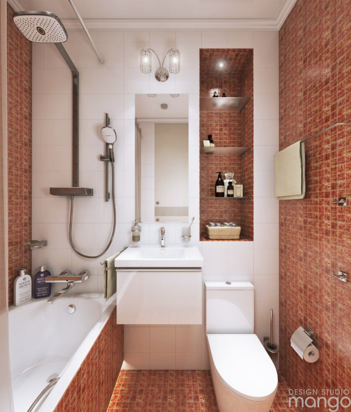 Minimalist Bathroom Design Ideas Which Combine With Simple