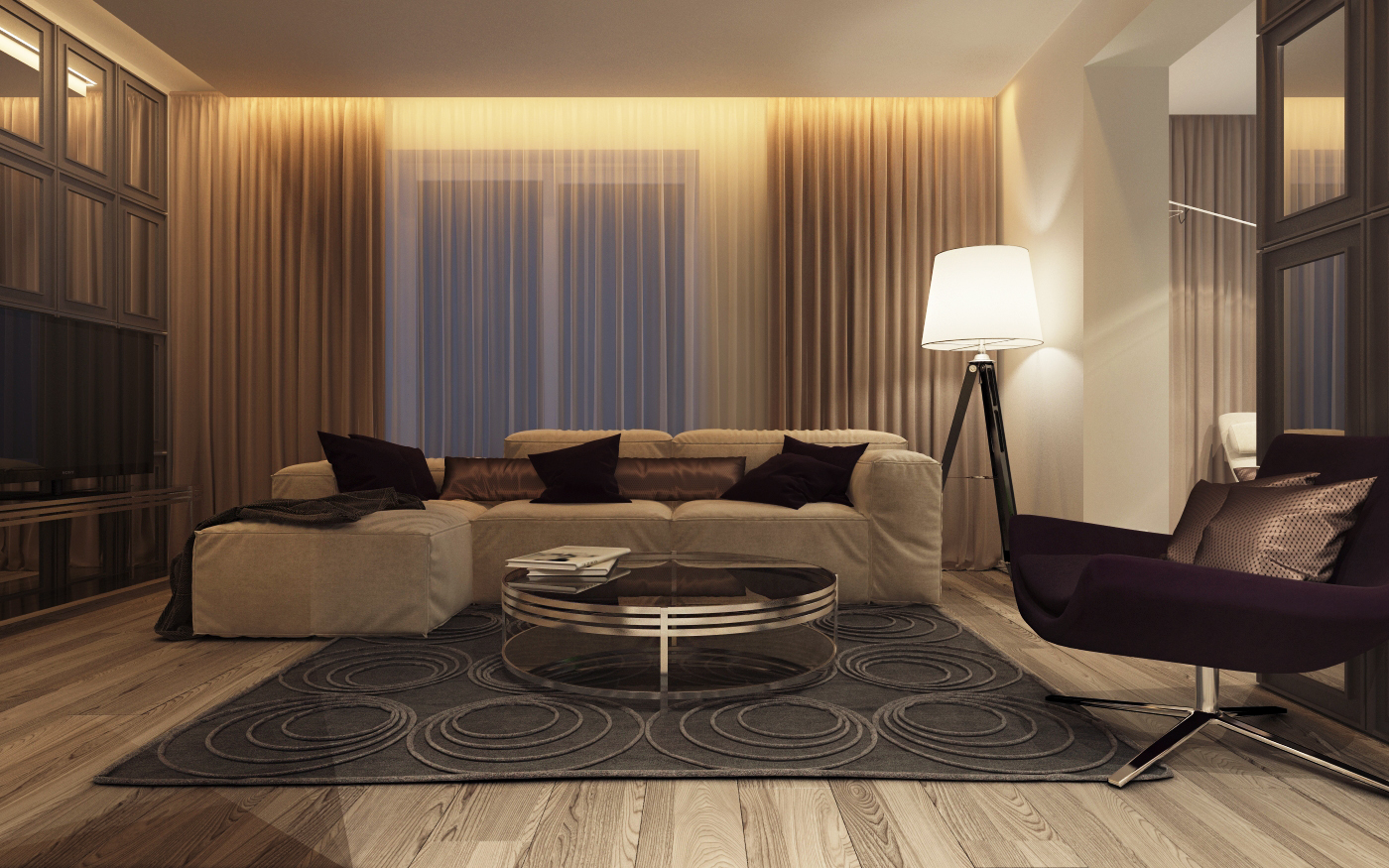 simple living room design