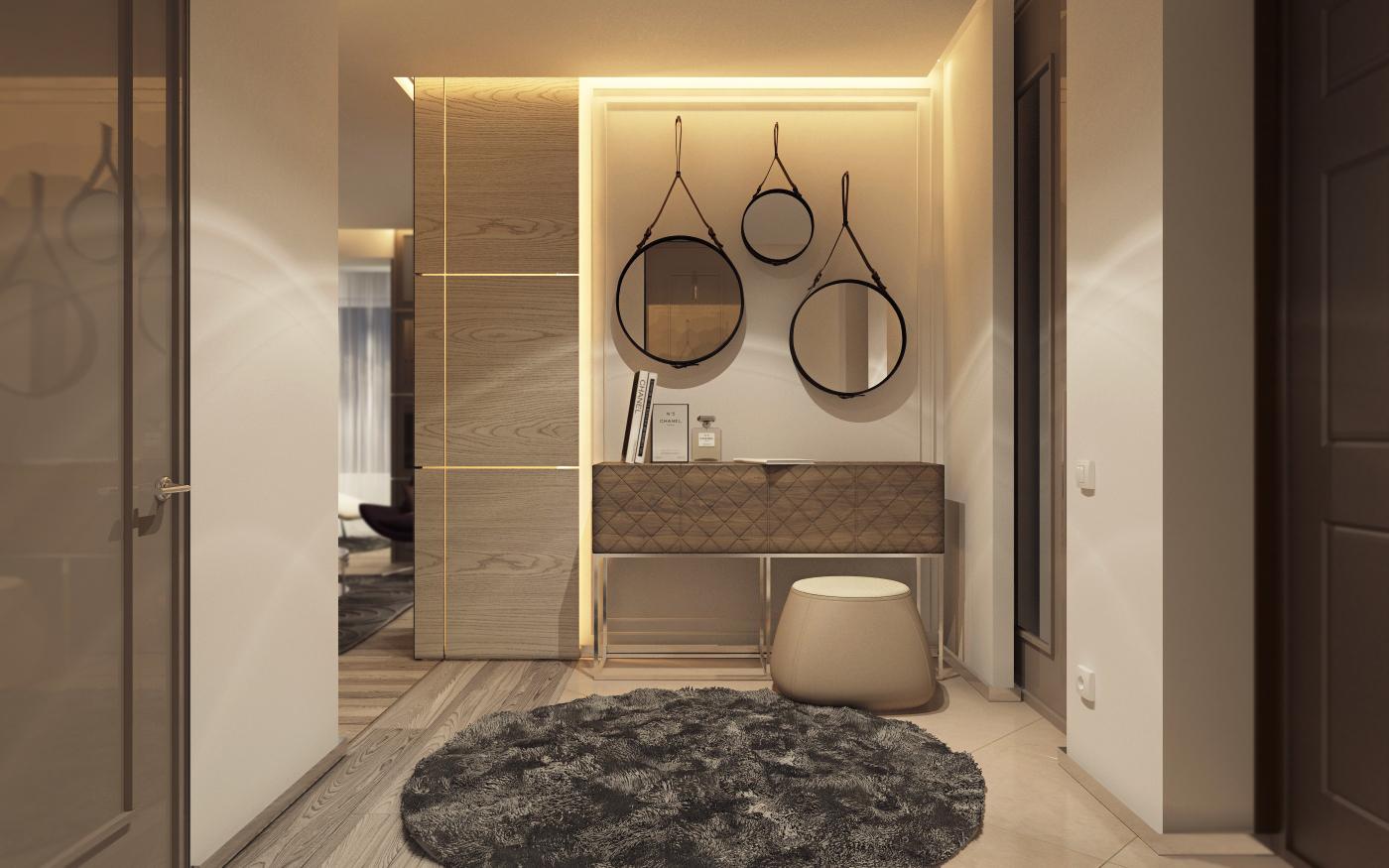 simple minimalist interior