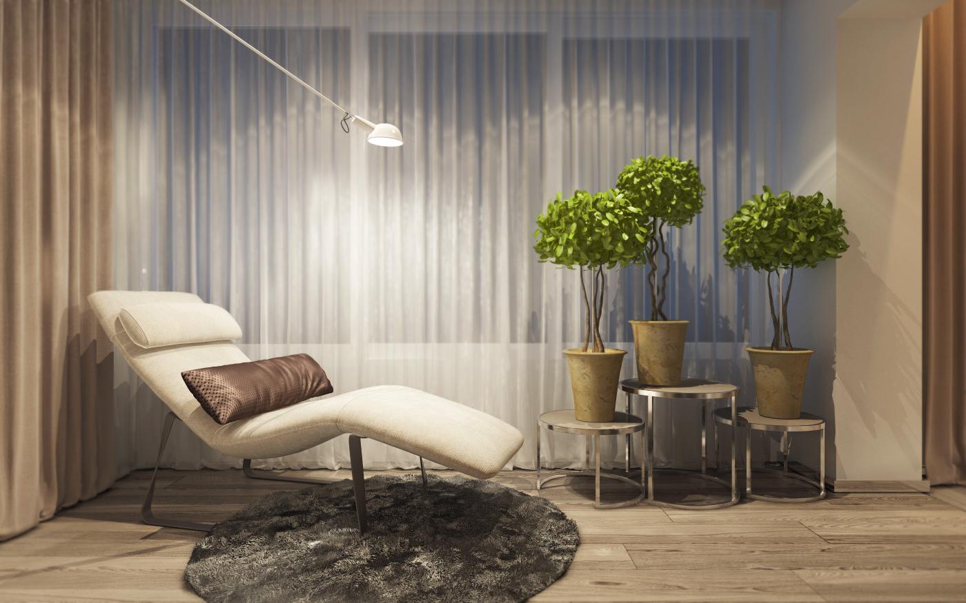 minimalist private room design