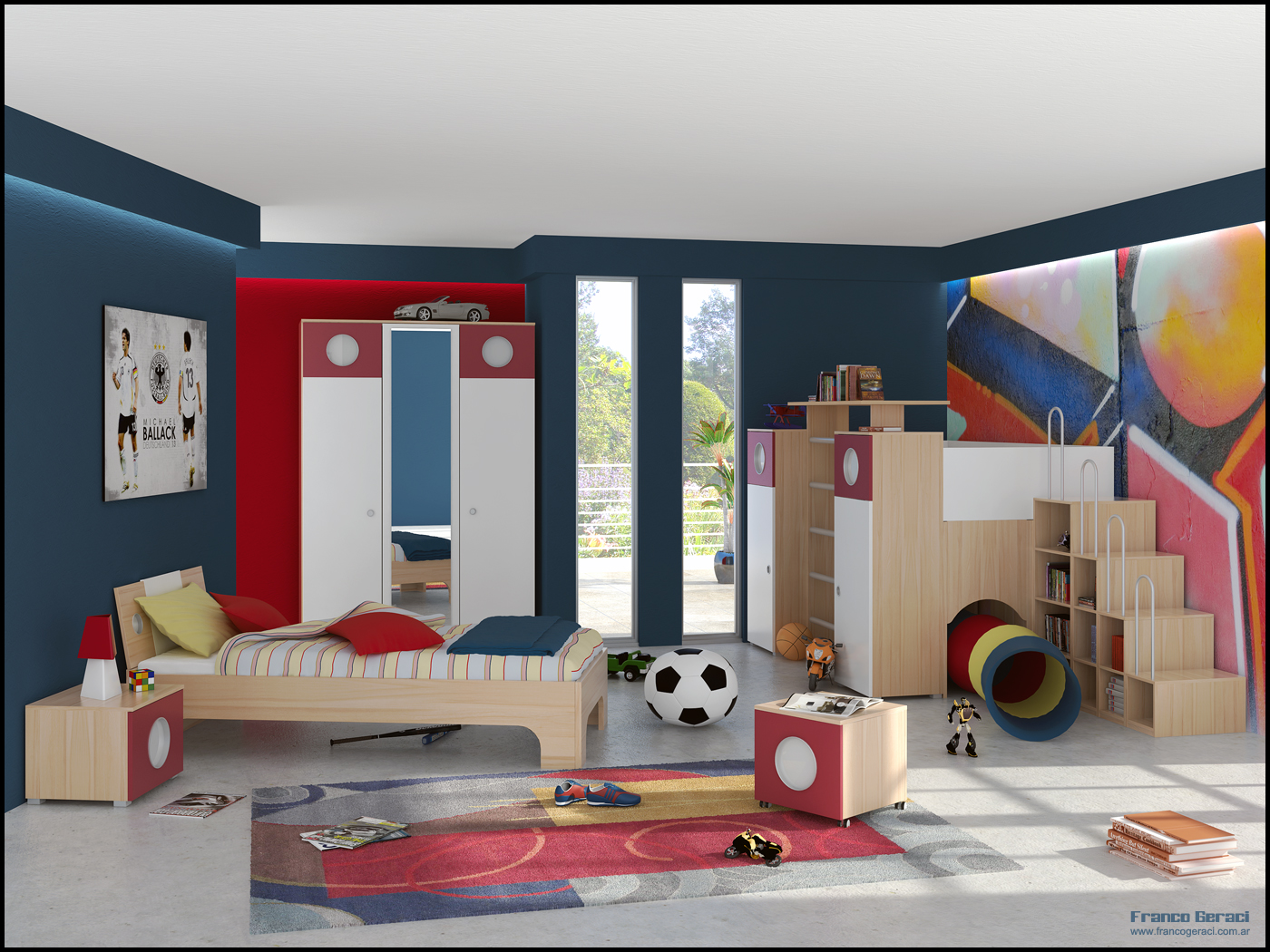 adorable boys bedroom