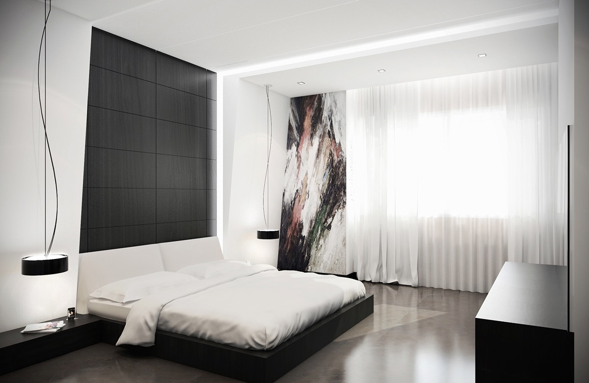 an artwork bedroom design