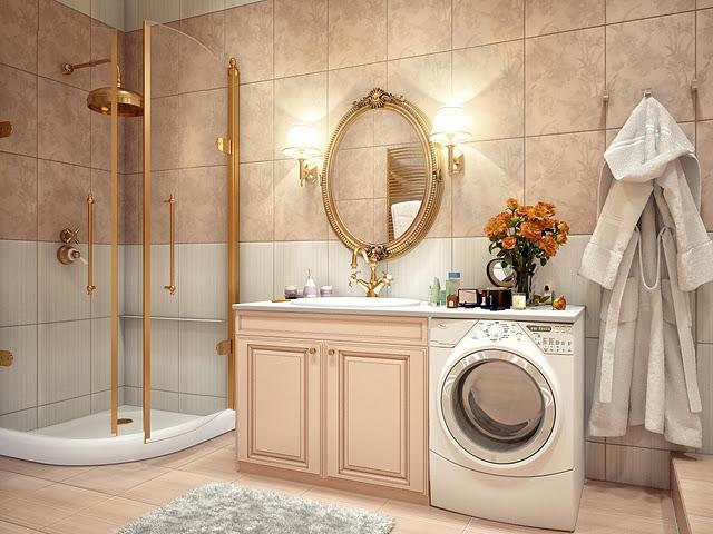 luxury bathroom decor