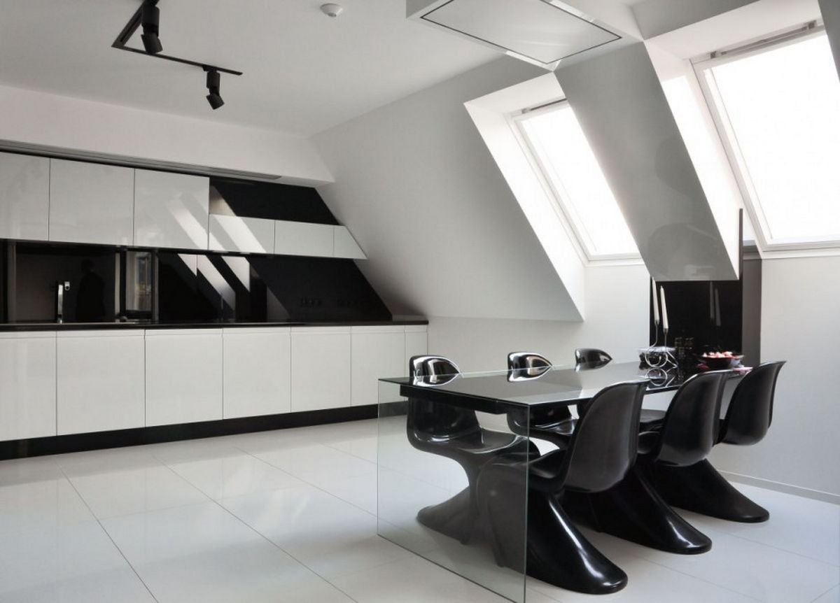 luxury black and white diningluxury black and white dining