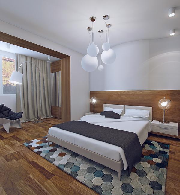 wooden bedroom decor