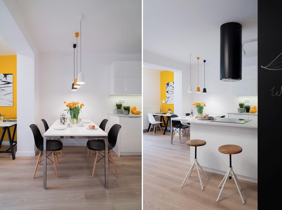 simple modern dining room decor