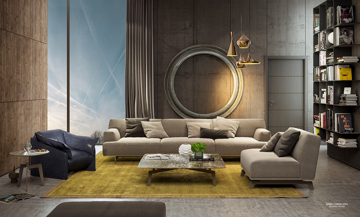 Anastasia Finko Modern Living Decor
