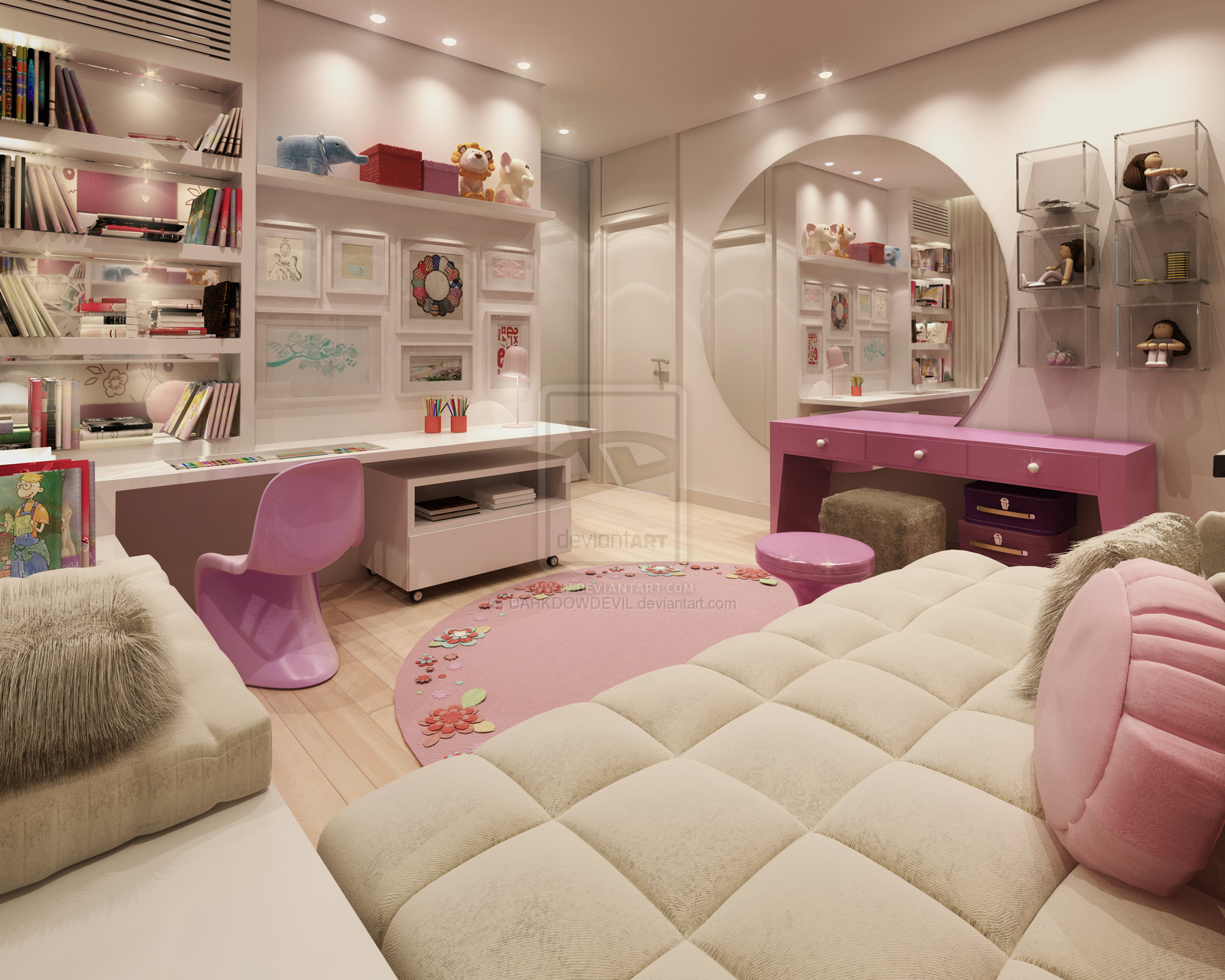 Adorable kids room designs which present a modern and for Modern day bedroom designs