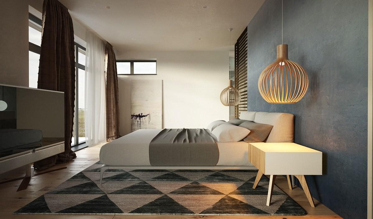 soft color bedroom design