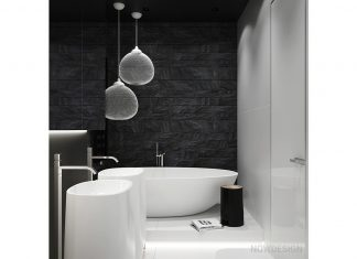 trendy bathroom design
